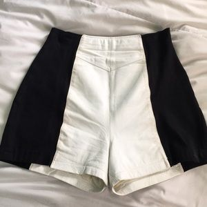 *incredible* vintage leather hot pants